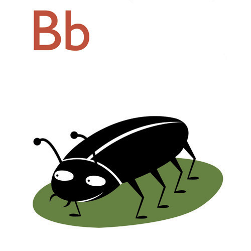 Bb is for Bbeetle