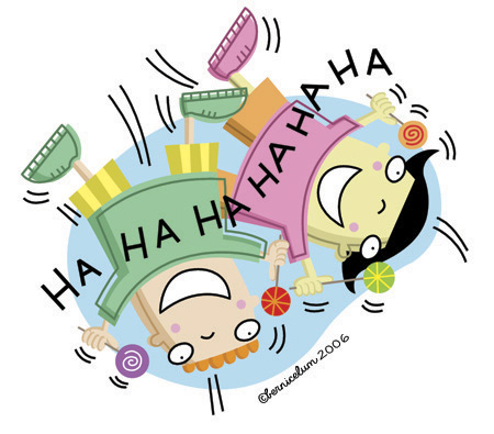 HA! HA! HA! HA! HA! HA!