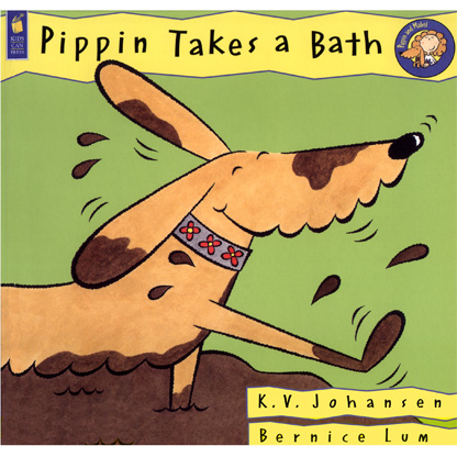 pippin takes a bath